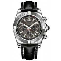 Breitling Chronomat 44 (Polished & Satin) Caliber 01 Automatic Chronograph AB011011.M524.743P