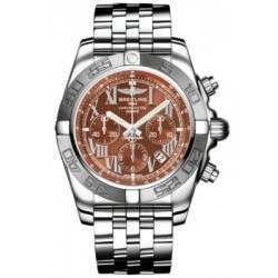 Breitling Chronomat 44 (Polished & Satin) Caliber 01 Automatic Chronograph AB011011.Q566.375A