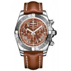 Breitling Chronomat 44 (Polished & Satin) Caliber 01 Automatic Chronograph AB011011.Q566.433X