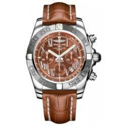 Breitling Chronomat 44 (Polished & Satin) Caliber 01 Automatic Chronograph AB011011.Q566.737P