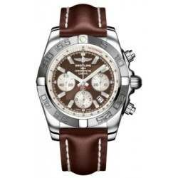 Breitling Chronomat 44 (Polished & Satin) Caliber 01 Automatic Chronograph AB011011.Q575.437X