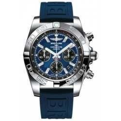 Breitling Chronomat 44 Polished Caliber 01 Automatic Chronograph AB011012C789158S