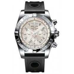 Breitling Chronomat 44 (Polished) Caliber 01 Automatic Chronograph AB011012.G684.200S