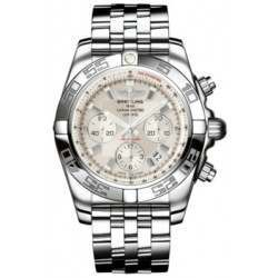 Breitling Chronomat 44 (Polished) Caliber 01 Automatic Chronograph AB011012.G684.375A