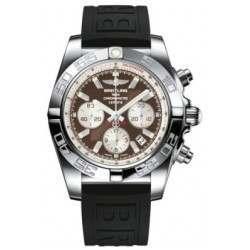 Breitling Chronomat 44 Polished Caliber 01 Automatic Chronograph AB011012Q575152S