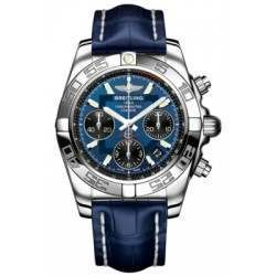 Breitling Chronomat 41 Steel Caliber 01 Automatic Chronograph AB014012C830718P
