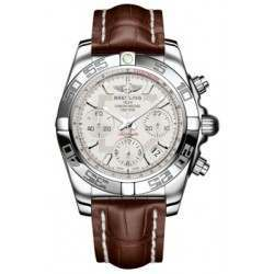 Breitling Chronomat 41 (Steel) Caliber 01 Automatic Chronograph AB014012.G711.724P