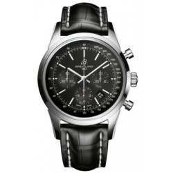 Breitling Transocean Chronograph Caliber 01 Automatic AB015212.BA99.743P