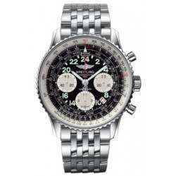 Breitling Navitimer Cosmonaute Caliber 02 Hand Wound Mechanical Chronograph AB021012.BB59.447A