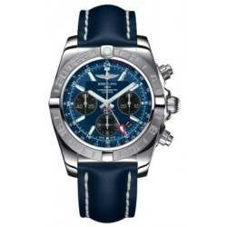 Breitling Chronomat 44 GMT Steel Caliber 04 Automatic Chronograph AB042011C852105X