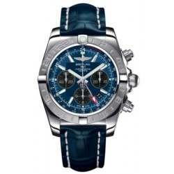 Breitling Chronomat 44 GMT Steel Caliber 04 Automatic Chronograph AB042011C852731P