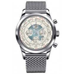 Breitling Transocean Chronograph Unitime Automatic AB0510U0.A732.152A