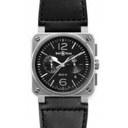Bell & Ross BR 03-94 Chronographe Steel BR0394-BL-SI/SCA