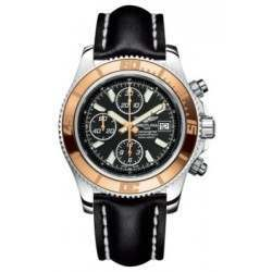 Breitling Superocean Chronograph II (Steel & Gold) Caliber 13 Automatic C1334112.BA84.435X