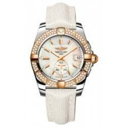 Breitling Galactic 36 (Steel & Rose Gold/ Diamonds) Caliber 37 Automatic C3733053.A724.236X