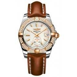 Breitling Galactic 36 (Steel & Rose Gold/ Diamonds) Caliber 37 Automatic C3733053.A724.412X