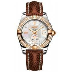 Breitling Galactic 36 (Steel & Rose Gold/ Diamonds) Caliber 37 Automatic C3733053.A725.712Z
