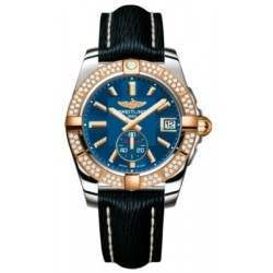 Breitling Galactic 36 (Steel & Rose Gold/ Diamonds) Caliber 37 Automatic C3733053.C831.215X