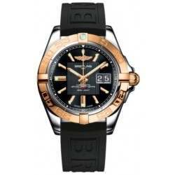 Breitling Galactic 41 (Steel & Rose Gold) Caliber 49 Automatic C49350L2.BA09.150S