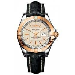 Breitling Galactic 41 (Steel & Rose Gold) Caliber 49 Automatic C49350L2.G701.218X