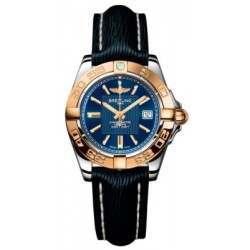 Breitling Galactic 32 (Steel & Rose Gold) Caliber 71 Quartz C71356L2.C813.210X
