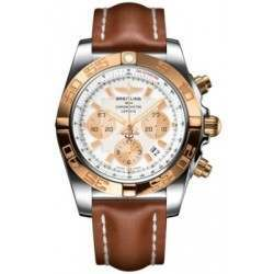 Breitling Chronomat 44 (Steel & Gold) Caliber 01 Automatic Chronograph CB011012.A696.433X