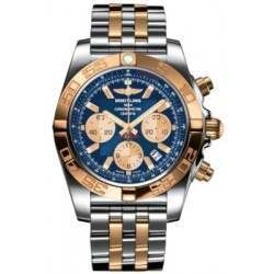 Breitling Chronomat 44 Steel  Gold Caliber 01 Automatic Chronograph CB011012C790375C