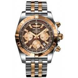 Breitling Chronomat 44 (Steel & Gold) Caliber 01 Automatic Chronograph CB011012.Q576.375C