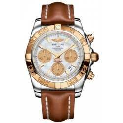 Breitling Chronomat 41 (Steel & Gold) Caliber 01 Automatic Chronograph CB014012.A722.425X