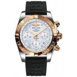 Breitling Chronomat 41 (Steel & Gold) Caliber 01 Automatic Chronograph CB014012.A723.150S