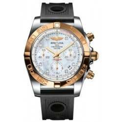 Breitling Chronomat 41 (Steel & Gold) Caliber 01 Automatic Chronograph CB014012.A723.202S