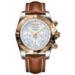 Breitling Chronomat 41 (Steel & Gold) Caliber 01 Automatic Chronograph CB014012.A723.425X
