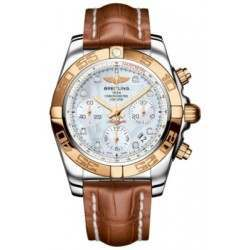 Breitling Chronomat 41 (Steel & Gold) Caliber 01 Automatic Chronograph CB014012.A723.722P