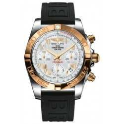 Breitling Chronomat 41 (Steel & Gold) Caliber 01 Automatic Chronograph CB014012.A748.150S
