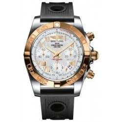 Breitling Chronomat 41 (Steel & Gold) Caliber 01 Automatic Chronograph CB014012.A748.202S