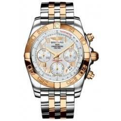 Breitling Chronomat 41 (Steel & Gold) Caliber 01 Automatic Chronograph CB014012.A748.378C