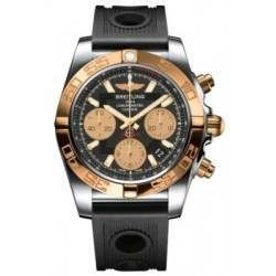 Breitling Chronomat 41 (Steel & Gold) Caliber 01 Automatic Chronograph CB014012.BA53.202S