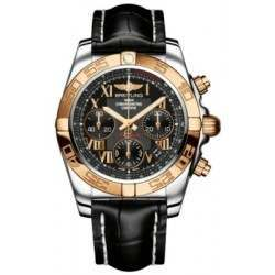 Breitling Chronomat 41 (Steel & Gold) Caliber 01 Automatic Chronograph CB014012.BC08.728P