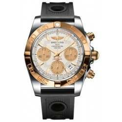Breitling Chronomat 41 (Steel & Gold) Caliber 01 Automatic Chronograph CB014012.G713.202S