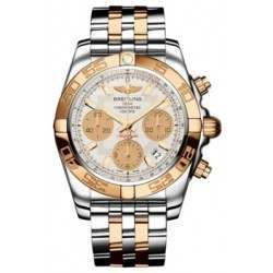 Breitling Chronomat 41 (Steel & Gold) Caliber 01 Automatic Chronograph CB014012.G713.378C
