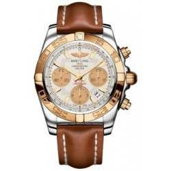 Breitling Chronomat 41 (Steel & Gold) Caliber 01 Automatic Chronograph CB014012.G713.425X