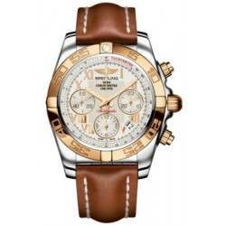 Breitling Chronomat 41 (Steel & Gold) Caliber 01 Automatic Chronograph CB014012.G759.425X