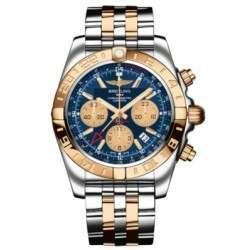 Breitling Chronomat 44 GMT (Steel & Rose Gold) Caliber 05 Automatic Chronograph CB042012.C858.375C