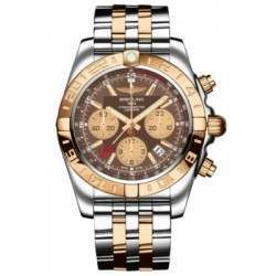 Breitling Chronomat 44 GMT (Steel & Rose Gold) Caliber 05 Automatic Chronograph CB042012.Q590.375C