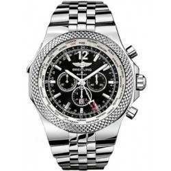 Breitling Bentley GMT Caliber 47B Automatic Chronograph A4736212.B919.998A