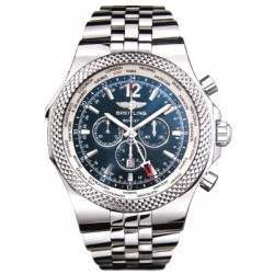 Breitling Bentley GMT Caliber 47B Automatic Chronograph A4736212.C768.998A