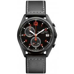Hamilton Khaki Aviation Pilot Pioneer Chrono H76582733