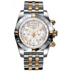 Breitling Chronomat 44 (Two-Tone) Caliber 01 Automatic Chronograph IB011012.A693.375C