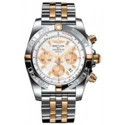 Breitling Chronomat 44 (Two-Tone) Caliber 01 Automatic Chronograph IB011012.A696.375C