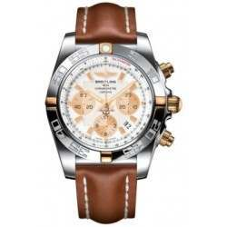 Breitling Chronomat 44 (Two-Tone) Caliber 01 Automatic Chronograph IB011012.A696.433X